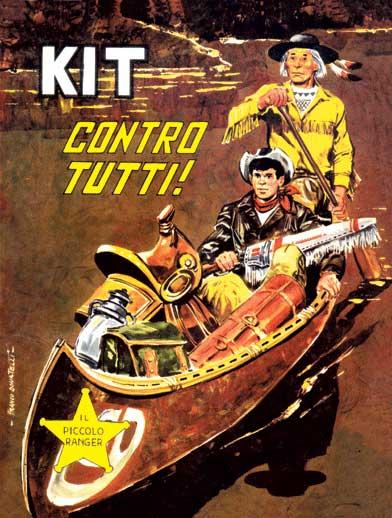 il piccolo ranger collana cowboy copertina numero 12