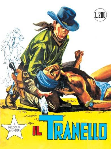 il piccolo ranger collana cowboy copertina numero 15