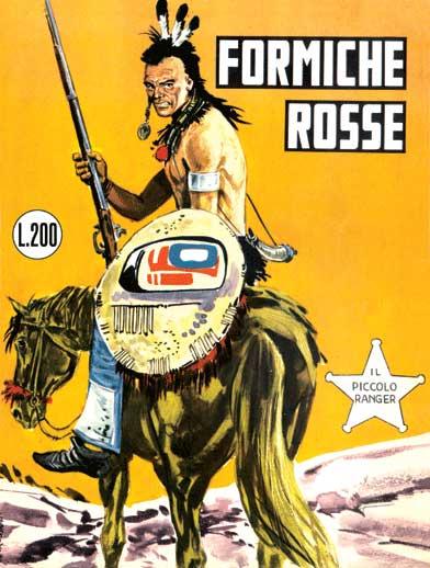 il piccolo ranger collana cowboy copertina numero 18