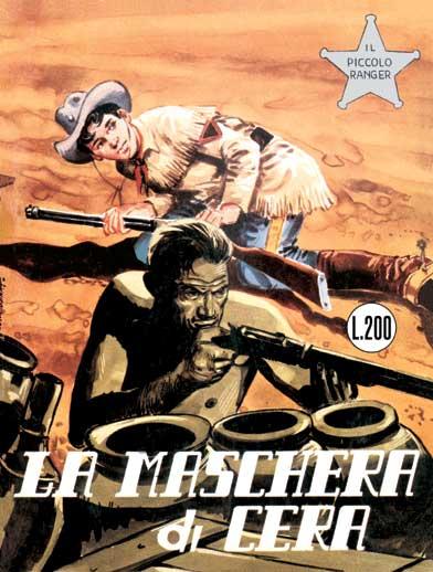 il piccolo ranger collana cowboy copertina numero 19