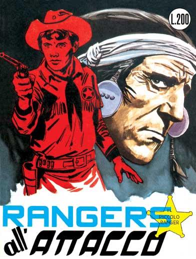 il piccolo ranger collana cowboy copertina numero 22