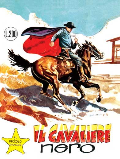 il piccolo ranger collana cowboy copertina numero 23