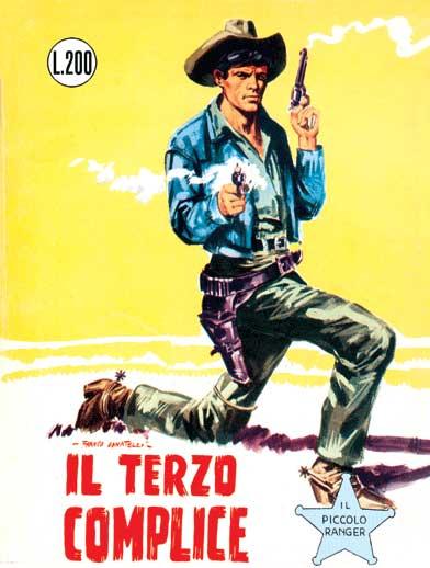 il piccolo ranger collana cowboy copertina numero 24