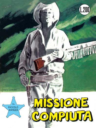 il piccolo ranger collana cowboy copertina numero 25