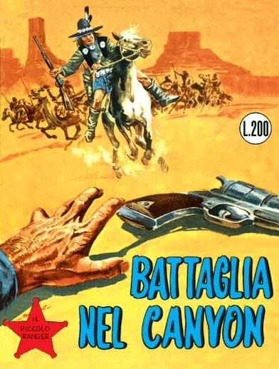 il piccolo ranger collana cowboy copertina numero 26