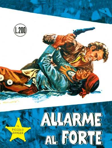 il piccolo ranger collana cowboy copertina numero 27