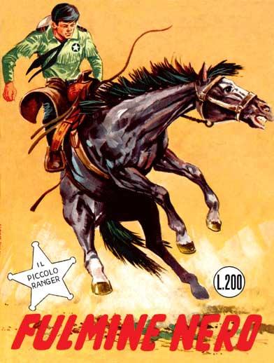 il piccolo ranger collana cowboy copertina numero 28