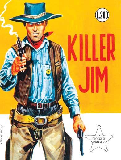 il piccolo ranger collana cowboy copertina numero 29