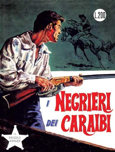 il piccolo ranger collana cowboy copertina numero 33