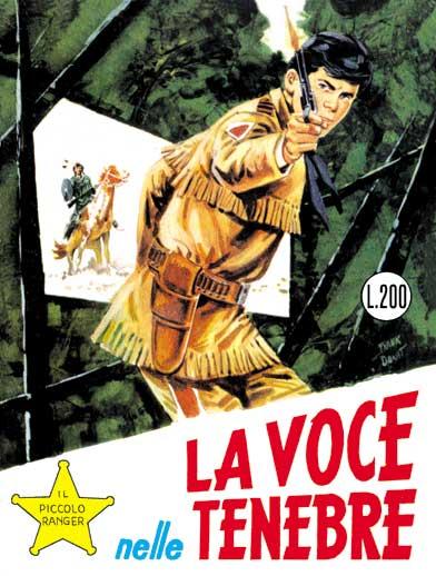 il piccolo ranger collana cowboy copertina numero 35