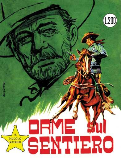 il piccolo ranger collana cowboy copertina numero 36