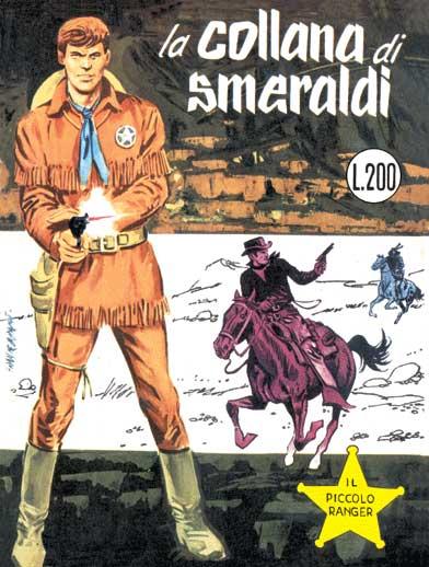 il piccolo ranger collana cowboy copertina numero 40