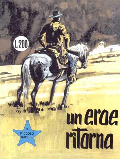 il piccolo ranger collana cowboy copertina numero 42