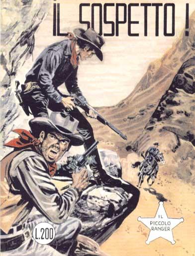 il piccolo ranger collana cowboy copertina numero 43