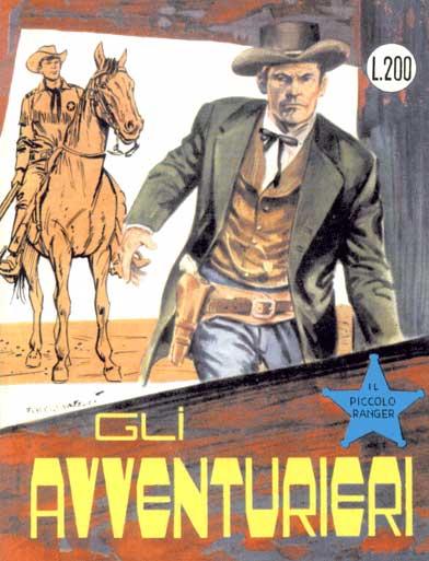 il piccolo ranger collana cowboy copertina numero 44