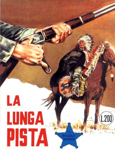 il piccolo ranger collana cowboy copertina numero 45