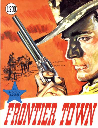 il piccolo ranger collana cowboy copertina numero 47