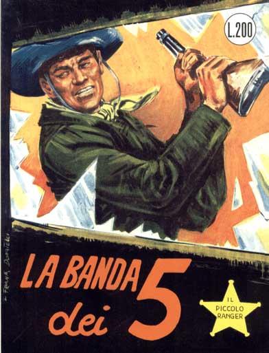 il piccolo ranger collana cowboy copertina numero 49