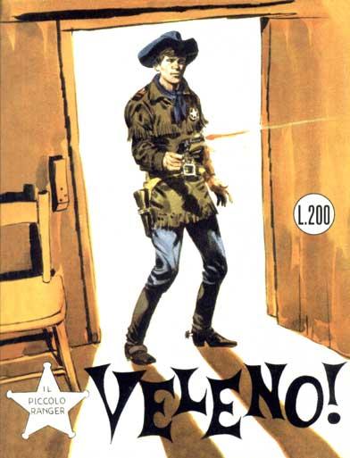 il piccolo ranger collana cowboy copertina numero 50