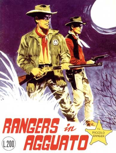 il piccolo ranger collana cowboy copertina numero 51
