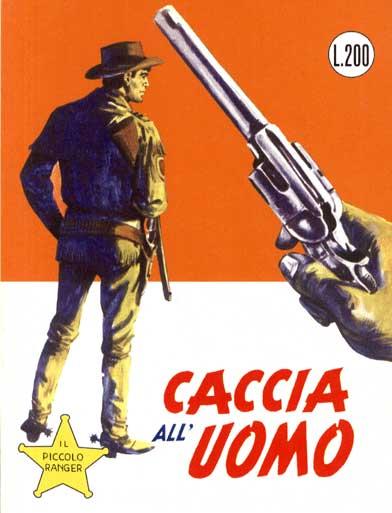 il piccolo ranger collana cowboy copertina numero 52