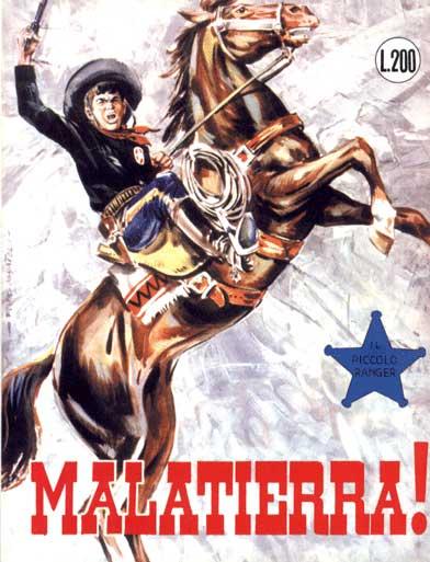 il piccolo ranger collana cowboy copertina numero 53