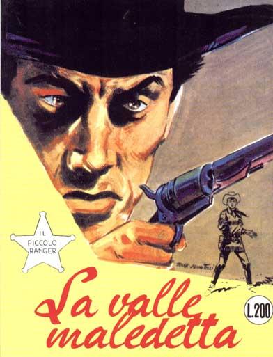 il piccolo ranger collana cowboy copertina numero 55