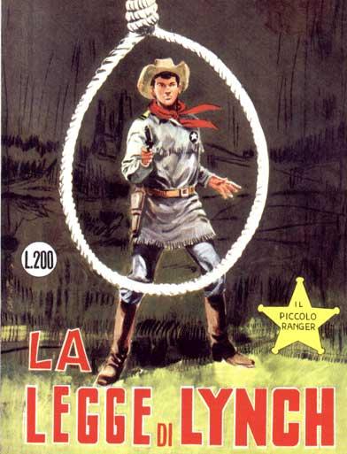 il piccolo ranger collana cowboy copertina numero 57