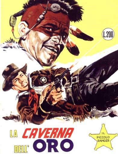 il piccolo ranger collana cowboy copertina numero 58