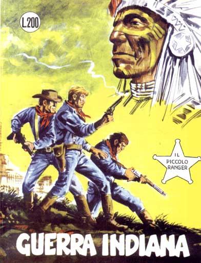 il piccolo ranger collana cowboy copertina numero 60