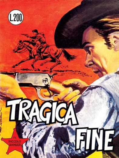 il piccolo ranger collana cowboy copertina numero 61