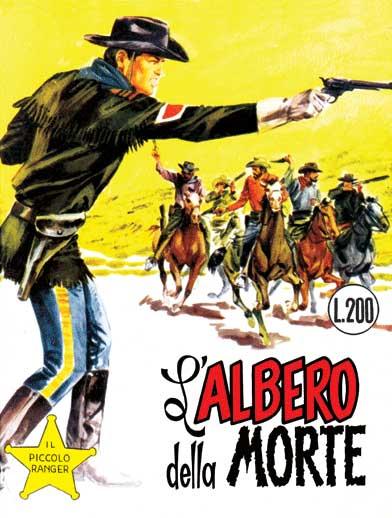 il piccolo ranger collana cowboy copertina numero 62