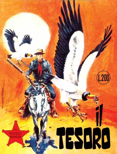 il piccolo ranger collana cowboy copertina numero 63