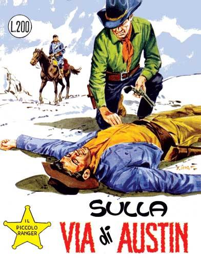 il piccolo ranger collana cowboy copertina numero 65