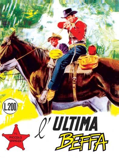 il piccolo ranger collana cowboy copertina numero 68