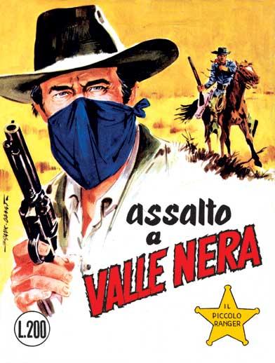 il piccolo ranger collana cowboy copertina numero 72