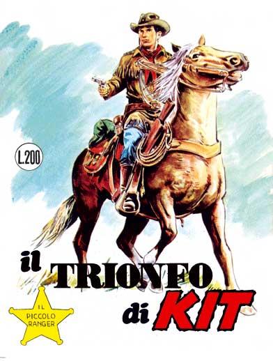 il piccolo ranger collana cowboy copertina numero 73