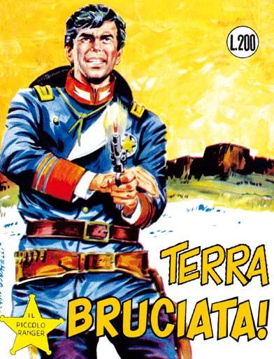il piccolo ranger collana cowboy copertina numero 80