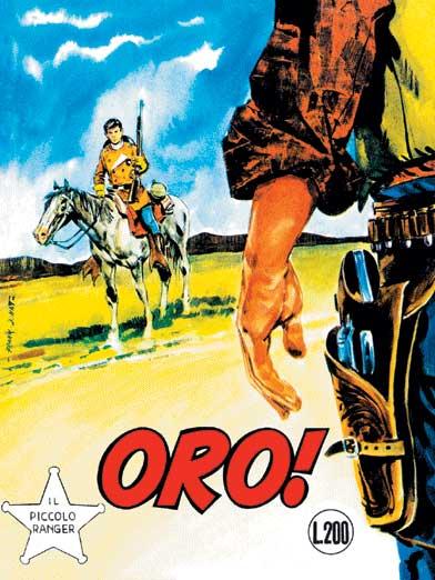 il piccolo ranger collana cowboy copertina numero 81