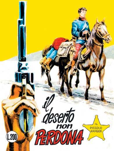 il piccolo ranger collana cowboy copertina numero 84