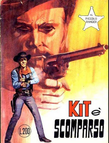 il piccolo ranger collana cowboy copertina numero 101