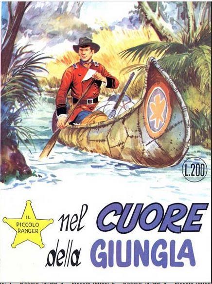 il piccolo ranger collana cowboy copertina numero 103