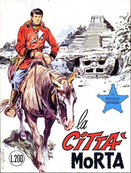 il piccolo ranger collana cowboy copertina numero 104
