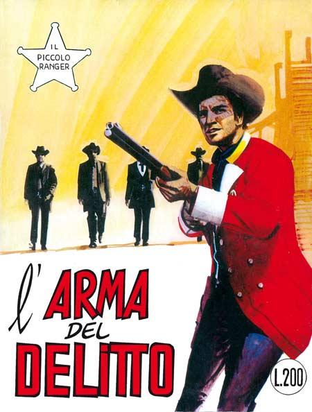 il piccolo ranger collana cowboy copertina numero 106