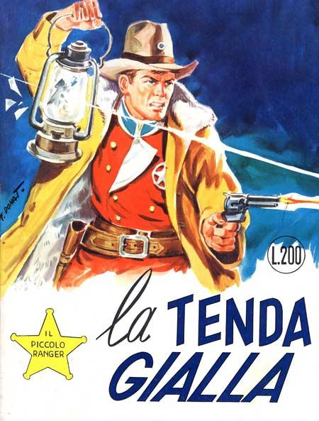 il piccolo ranger collana cowboy copertina numero 110