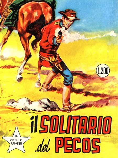 il piccolo ranger collana cowboy copertina numero 112