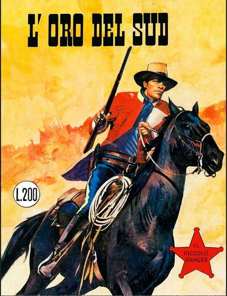 il piccolo ranger collana cowboy copertina numero 114