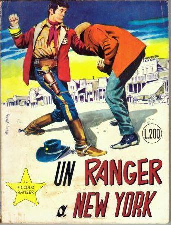 il piccolo ranger collana cowboy copertina numero 116