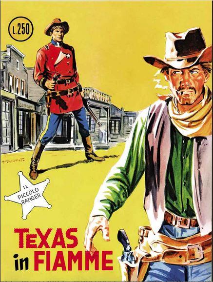il piccolo ranger collana cowboy copertina numero 120
