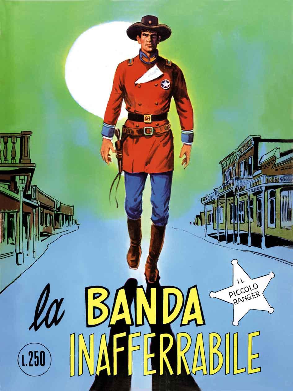 il piccolo ranger collana cowboy copertina numero 122